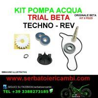 KIT ORIGINALE BETA per REVISIONE POMPA ACQUA MOTORE trial beta TECHNO REV