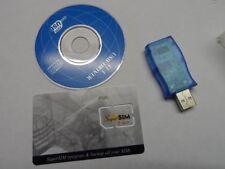 2X SUPERSIM CARTE SIM VIERGES + LECTEUR SUPER SIM SAUVEGARDE CLONE TELEPHONE PUK