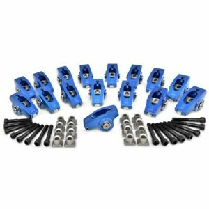 Proform 66878 Roller Rocker Arm Set 1.7 Ratio 5/16 Stud Fits Ford 302HO/351W NEW
