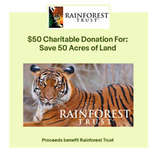 $50 Charitable Donation For: 50 Acres of Land