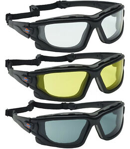 Dickies Safety Glasses Work Motorcycle Goggles Anti Fog Motorbike Mountain Bike