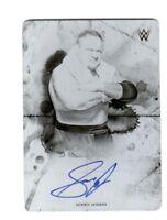 WWE Samoa Joe 2018 Topps Undisputed Autograph Printing Plate Card SN 1 of 1