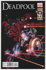 DEADPOOL #34 | Vol. 2 | Ed McGuinness 1:15 Captain America Variant | 2011 | VF+