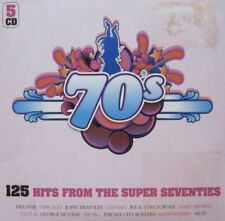 125 HITS FROM THE SUPER SEVENTIES  - 5 CD
