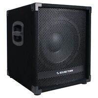 "OPEN BOX:Sound Town METIS 1400W 12"" Powered PA DJ Subwoofer  METIS-12SPW-R"