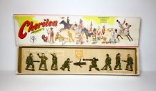CHERILEA Lead Toy Soldier AMERICAN SOLDIERS BOXED SET Britains