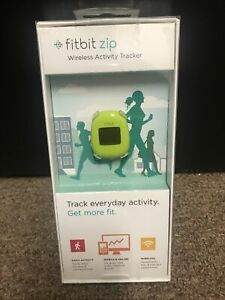 RARE NEW IN BOX - Fitbit Zip FB301G Wireless Activity Tracker - Lime Green