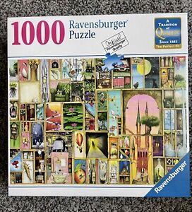 "NEW Ravensburger puzzle 1000pcs Colin Thompson ""Doors Open"""