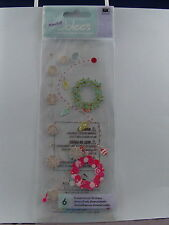 NEW EK SUCCESS JOLEES DIMENSIONAL STICKERS DECORATIONS CHRISTMAS HOLATOJO11 853