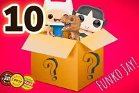 Funko Pop Mystery Box!! 10 Figures (CHASE GUARENTEED)