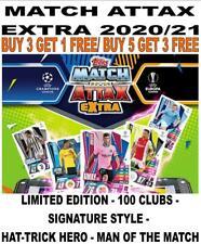 MATCH ATTAX EXTRA 2020/21 20/21 100 CLUB/ LIMITED/ SIGNATURE STYLE/ MOTM