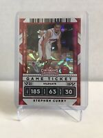 2020/21 Panini Contenders Draft Stephen Curry Cracked Ice Refractor #8/23