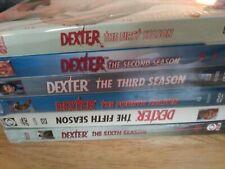 NEW DEXTER TV Series Seasons 1-6 in sealed packaging never opened DVD