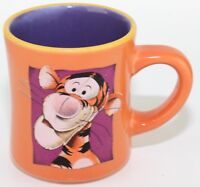 Disney Tigger Orange Purple Coffee Mug Tea Cup