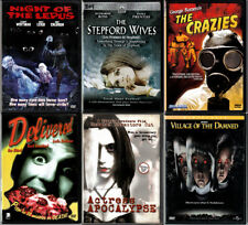 7 DVD LOT/Bundle NIGHT OF THE LEPUS +THE CRAZIES Romero +STEPFORD WIVES OOP R1