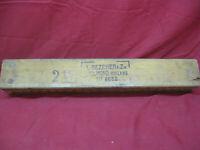 Antique VTG L Bezemer & Zn. Holland Cigar Mold Wooden Press Tobacco