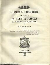 CAMPANIA_IRPINIA_AVELLINO_PADULI_MANIERI_COSCIA_CAPECE GALEOTA_BUONALBERGO_LOTTI