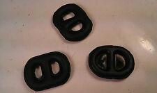 HOLDEN COMMODORE VB VC VH VK VL VN VP VR VS EXHAUST RUBBER HANGER MOUNT X 3