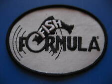 VINTAGE FISH FORMULA BASS FISHING PATCH/EMBLEM