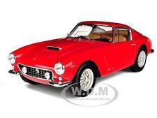 1961 FERRARI 250 GT BERLINETTA PASSO CORTO SWB RED ELITE 1/18 HOTWHEELS V8377