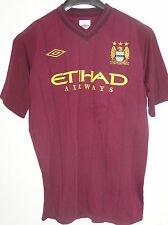 Yaya Toure Signed Match Worn Rekik Manchester City Pre-Season 2012/13 Shirt