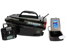 Cult Ranger Pro GPS Autopilot Baitboat With Lithium And Toslon TF640 Fish Finder