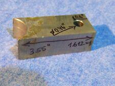 Tungsten Bucking Bar W-86.28%, Ni-8.55%, Fe-2.76%, Co-2.41% (1.612 kg.)