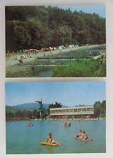 2x Wisła Camping Polen Postkarten Lot ungelaufen postcards Poland ab/nach ~1970