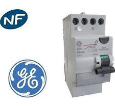 Interrupteur Différentiel type a 2 poles 40A / 30mA general electric 605820