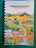 Cordova Presbyterian Church Cookbook, Cordova, Tennessee~1992 Invitation to Our