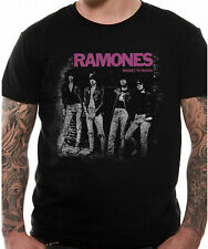 Official Ramones T Shirt Rocket To Russia Punk Rock Hey Ho Lets Go S-3XL New