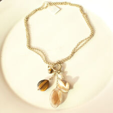 """New 16"""" Lia Sophia Beads Pendant Necklace Best Gift Fashion Women Party Jewelry"""