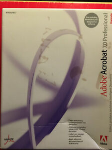 Adobe Acrobat 7.0 Professional Upgrade for Windows