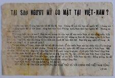 Wartime South Vietnamese Psychological Leaflet Cp-08