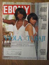 "EBONY Magazine Viola & Taraji ""150 Most Powerful Blacks in America"" May 2009"