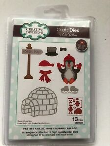 Creative Expressions Craft Die - Penguin Palace CED3205     13 DIES
