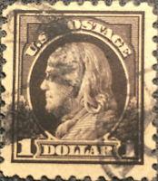 Scott #478 US 1916 Franklin Postage Stamp Perf 10 XF NH