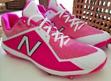 PINK  MOTHERS DAY BASEBALL CLEATS MLB Phillies Player Game Issue NESHEK 98