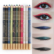 12 Color Eyeliner Color Bar Enduring Waterproof Anti-sweat with No Blooming