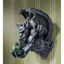 Medieval Gothic Corridor Gargoyle Sentinel Candle light Sconce Holder Home Decor