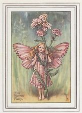 CICELY MARY BARKER c1930 THE YARROW FAIRY Painting Vintage Art Book Print