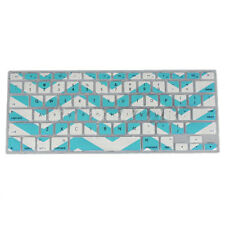 Zig-Zag Keyboard Cover Skin For Macbook Pro 13 15 17 inch Blue G5T3