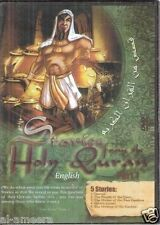 Stories from the Quran Children Islam English Movie DVD Part 1: Five Stories NEW
