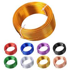 1Roll 10-193M 9-20Gauge 0.8/1/1.5/2/2.5/3mm Metal Aluminum Craft Wire Metal Cord