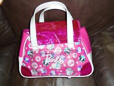 BARBIE JUST PLAY GIRL'S PURSE, OVERNIGHT BAG, EUC!
