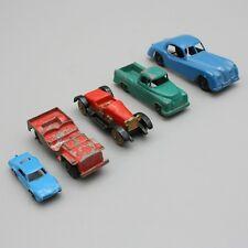Lot of 5 Vtg Tootsie Toy Jaguar XK Jeep Pickup Truck 1919 Stutz Bearcat Toronado