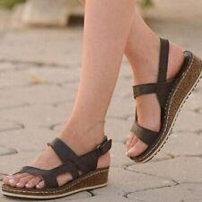 Sandalias De Verano Para Mujer Zapatos Casuales De Punta Abierta Moda Plataforma
