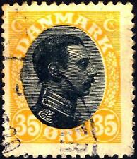 DENMARK - DANIMARCA - 1918/20 - Cristiano X