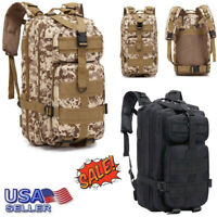 Bug Out Bag Military Tactical Backpack Assault Army Molle Hiking Camping Pack US