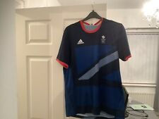 Andy Murray London 2012 Olympic Games Team GB Tennis Shirt Not Davis Cup Large